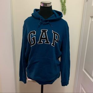 Gap 77% Cotton Old School Spell out Logo Hoodie